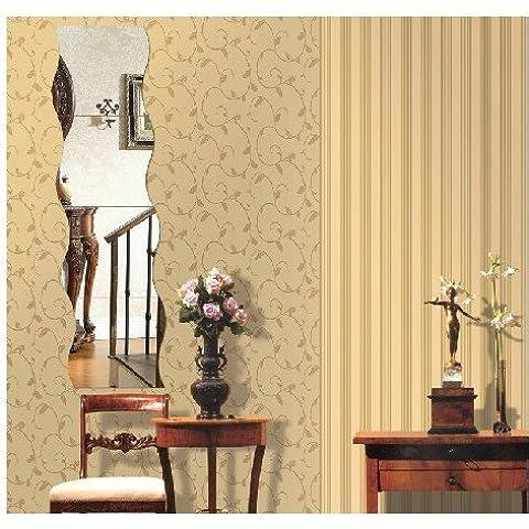 qwer Espejo de pared la textura de la superficie de papel para pared matrimonio habitaciones amuebladas en adherir el restaurante aula ocupan el sofá rizado fondo P085,