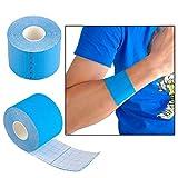 Toruiwa Cinta muscular 1 rollo 5 m x 5 cm Kinesiología Cintas Impermeable elástico Physio muscular terapia Cintas, protecciones de deporte Cintas bandage soporte de lesión