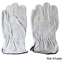 Toolusa misura extra large da uomo grigio in crosta sfoderato guanti del driver: 5500/XL