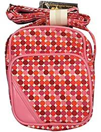 a43c38634e Gola Maclaine Denim Mini Adjustable Shoulder Flight Bag (Fuchsia Multi)