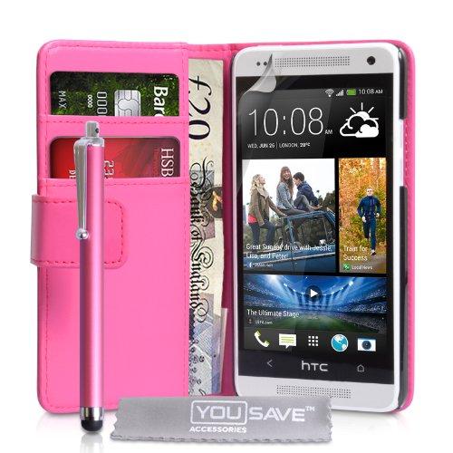 yousave-accessories-ht-da02-z370p-funda-con-tapa-de-piel-sintetica-para-htc-one-mini-incluye-lapiz-c