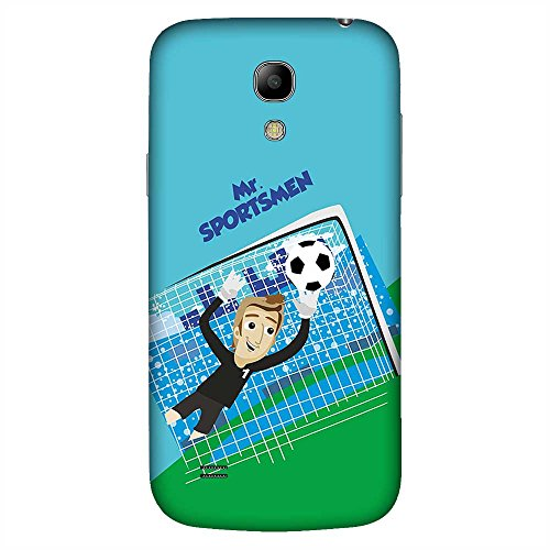 Mobo Monkey Printed Designer Hard Tpu Armor Bumper Shell Back Case Cover for Samsung Galaxy S4 Mini I9195I :: Samsung I9190 Galaxy S4 Mini :: Samsung I9190 Galaxy S Iv Mini :: Samsung I9190 Galaxy S4 Mini Duos :: Samsung Galaxy S4 Mini Plus (Soccer :: Field :: Ground :: Retro :: Vintage :: Green Design)  available at amazon for Rs.449