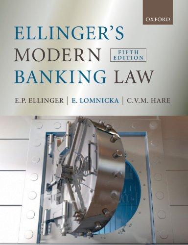 Ellinger's Modern Banking Law (English Edition)
