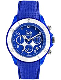 Ice-Watch - ICE dune Admiral blue - Blaue Herrenuhr mit Silikonarmband - Chrono - 014218 (Large)