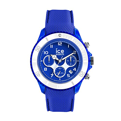 Ice-Watch - ICE dune Admiral blue - Men's wristwatch with silicon strap - Chrono - 014218 (Large)