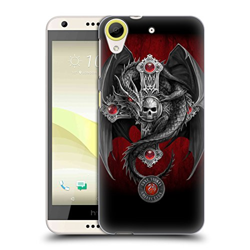 Official Anne Stokes Gothic Dragon Tribal Hard Back Case for HTC Desire 650