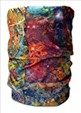 #8: Noise NOIHWP181 13-in-1 Galaxy Multifuntional Polyester Bandana, Free Size (Multicolour)