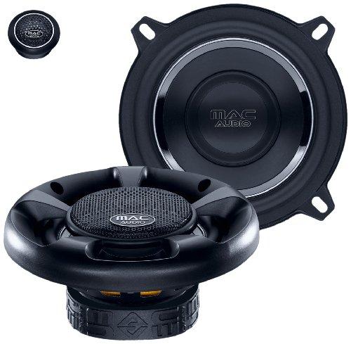 Mac Audio MPExclusive 2.13 - Altavoces de coche (sistema de componentes de 2 vías, rango de frecuencia de 38 - 26000 Hz, 90 dB) negro