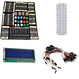 Electronique Composant Best Deals - Wallzkey Électronique Fans Kit Package de Composant Pour Les Cours Arduino Starter WK-02