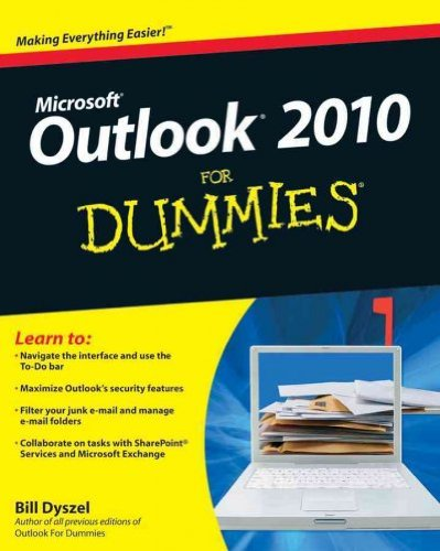 (Outlook 2010 for Dummies) By Dyszel, Bill (Author) Paperback on (05 , 2010)