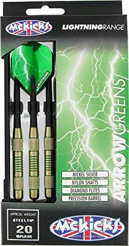 McKicks Arrow Greens Steeldart-Set 20g
