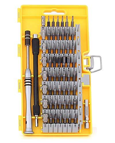 Ctbd Magnetische Schraubendreher Set, 60 in 1 Precision Elektronik Repair Tool Kits für PC, Handys, Brillen, iPhone, Samsung, Laptop, Computer, MacBook, Kamera, Uhr, Elektronik DIY Modelle