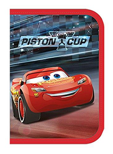 Undercover caad0440–Estuche Escolar con STABILO Marca Relleno, Disney Pixar Cars 3, 30Piezas
