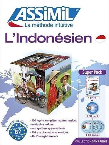 Assimil Indonesien - L'Indonesien (livre+4CD audio+1CD