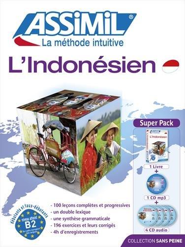 L'Indonesien (livre+4CD audio+1CD mp3)