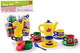 Kinder-Küchen Tee-Service Kaffee-Service 17 teilig Kinder-Spielzeug Puppen-Geschirr Spiel-Set Tee-Set