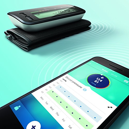 Philips Smart Schwarz DL8760/15Oberarm BPM mit Bluetooth - 3