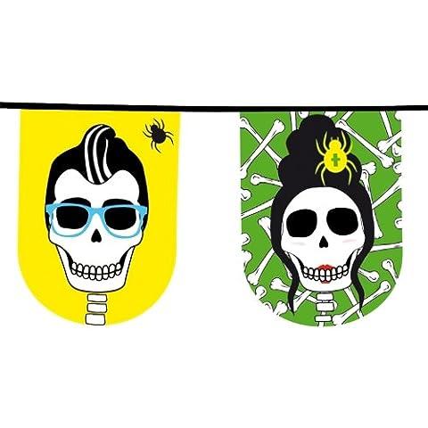 Costumes Dia De Los Muertos - Guirlande Día de los muertos 8