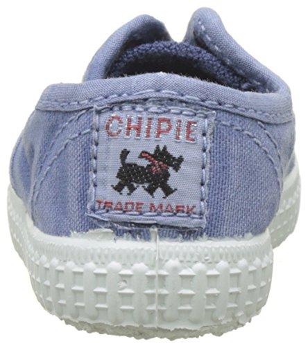 Chipie Unisex-Kinder Josepe Enz Flach, Beige Bleu (Ciel Délavé enzyme)