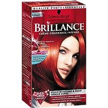 Couleur cheveux rouge eclatant