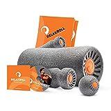 Relaxroll (Das Original) Faszienrolle Massagerolle, Großes PREMIUM Set, inkl. Übungs-DVD und Übungs-Flyer
