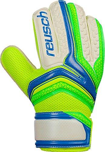 Reusch Serathor Easy Fit Junior blau grün Torwarthandschuhe NEU, Größe:6.5