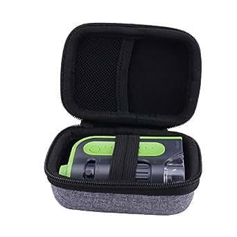 per Carson MM-300 MicroBrite Plus - Microscopio tascabile Valigia Scatola Borsa Costodie di Aenllosi