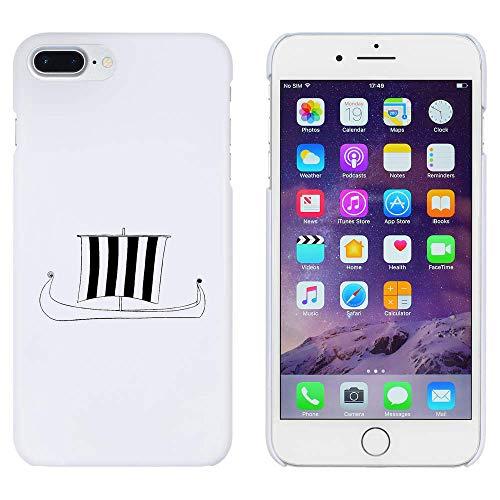 Azeeda Weiß 'Wikingerschiff' Hülle für iPhone 7 Plus (MC00179917)