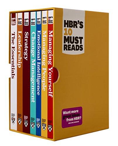 Preisvergleich Produktbild HBR's 10 Must Reads Boxed Set with Bonus Emotional Intelligence (7 Books) (HBR's 10 Must Reads)