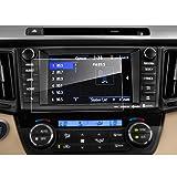 LFOTPP Rav4 7 pulgadas Navegación Protector de pantalla - 9H Cristal Vidrio Templado GPS Navi película protegida Glass