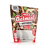 Prozis Oatmeal with Whey Protein Farina D'Avena, NutChoc - 1000 gr