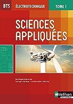 BTS Électrotechnique - Sciences appliquées, Tome 1 de Jean-Luc Azan