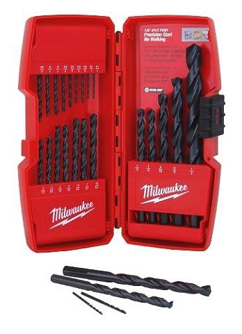 MILWAUKEE ELEC TOOL - Thunderbolt Black Oxide Drill Bit Set, 21-Pc.