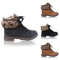 Women Faux Fur Ankle Boots