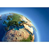 Vlies Fototapete 200x140 cm - Top ! PREMIUM PLUS Foto Tapete ! Wandbilder XXL Wandbild Bild Fototapeten Tapeten Wandtapete Wanddeko Wand Erde Weltraum Planet - no. 230