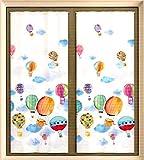 COPPIA TENDE TENDINE MONGOLFIERE PEZZOLI CAMERA CAMERETTA BAMBINI (60 x 150 cm)