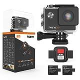 thieye i60+ caméra sport 4k 20mp wifi 170 ° grand-angle action caméra 60m caméra etanche 2.0 '' lcd