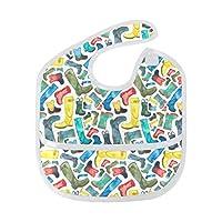 Wellies Infant Bibs Waterproof Baby Bib Roll Up Bib,Saliva Towel Antifouling Bibs for Toddler Bibs for Drooling and Teething