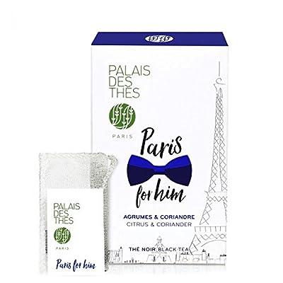Palais des Thés - Thé Noir PARIS FOR HIM - 20 sachets mousselines