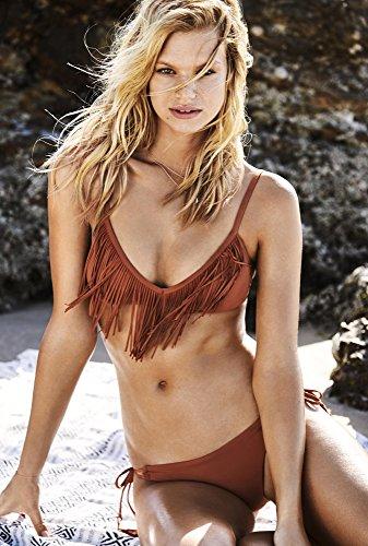 Seafolly Damen Bikinihose Coastal Fringe rost (507) 36