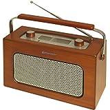 Roadstar TRA-1958N/WD Radio portable Marron