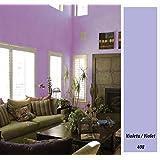 Macy - Macy pintura mate decoración 4 litros, color violeta