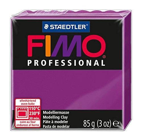 Staedtler - Fimo Professional - Pain Pâte à Modeler 85 g Violet