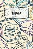 Guinea-Bissau: Punktiertes Reisetagebuch Notizbuch oder Reise Notizheft Gepunktet - Reisen Journal für Männer und Frauen mit Punkten