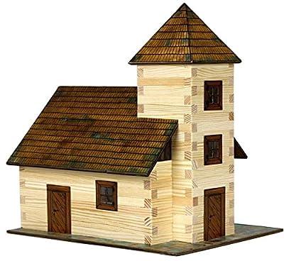 Walachia 8594036430129 - Nr. 12 Kirche Holz Modellbauset, Modellbahn Spur 1/ LGB 1:32 von Walachia