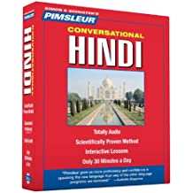 Pimsleur Hindi Conversational Course - Level 1 Lessons 1-16 CD: Learn to Speak and Understand Hindi with Pimsleur Language Programs