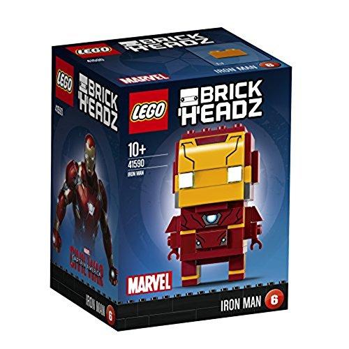 LEGO Brickheadz 41590 - Iron Man, Marvel Sammlerstück