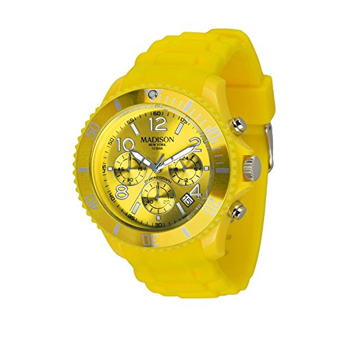 ren Uhr Candy Time® Chrono Gelb Onesize ()