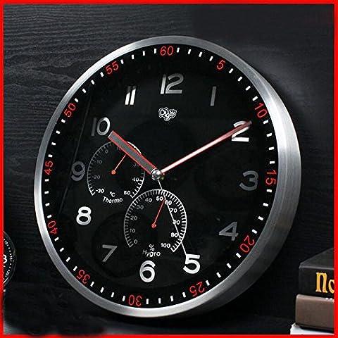 CNMKLM Creativo de Arte Moderno Reloj de pared Reloj de pared sólidos Diseño Moderno salón y dormitorio pared Watche #12