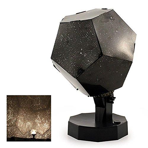 QSSM® DIY Romántico Cuatro Estaciones Estrella Cielo Proyector Luces Nightlight Ciencia Lámpara Universo Proyección Lámpara Galaxia Estrella Noche Luz Dormir Lámpara De Mesa Lámpara De Escritorio